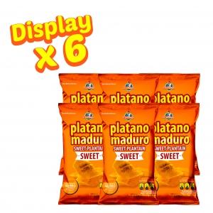Plátano Maduro Sweet 70 g (Display x 6 UND.) - Productos la victoria