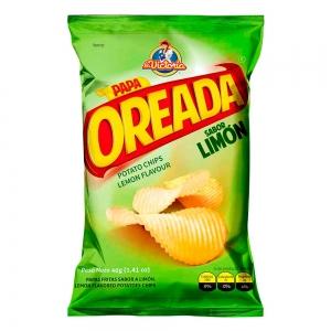 Papa Oreada Limón 40 g (Dislplay x 6 UND.)