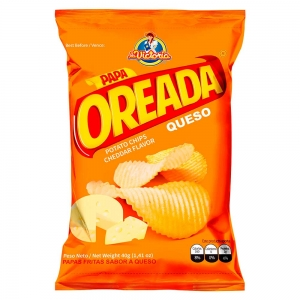 Papa Oreada Queso 40 g (Display x 6 UND.)