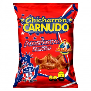 Chicharrón Carnudo Familiar 110 gr.