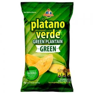 Plátano Verde Green 70 g (Dislpay x 6 UND.)
