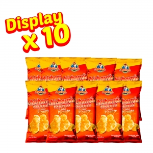 Chicharrón Express Picante 20 gr. (Display x 10 UND.) - Productos la victoria