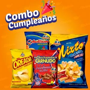 COMBO CUMPLEAÑOS - Productos la victoria