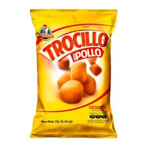 Trocillo Pollo 25 g (Display x 12 UND.)