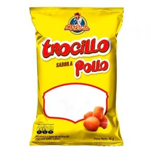 Trocillo Pollo Popular 18 gr. (Display x 12 UND.)