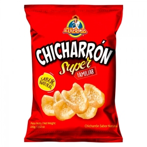 Chicharrón Súper Familiar 100gr. - Productos la victoria