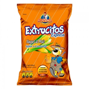 Extrucito Express Caramelo (Display x 12 UND.)
