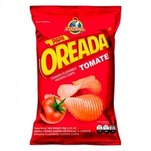 Papa Oreada Tomate 40 g (Display x 6 UND.)