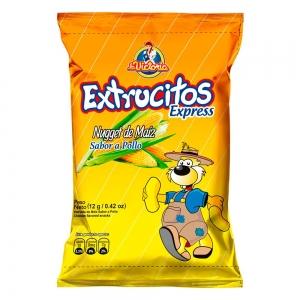 Extrucito Express Pollo (Display x 12 UND.)