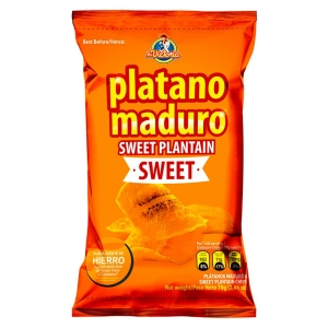 Plátano Maduro Sweet 70 g (Display x 6 UND.)
