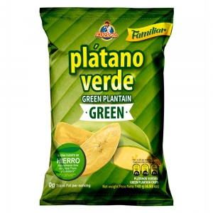 Plátano Verde Green Familiar 140g - Productos la victoria