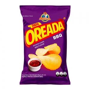 Papa Oreada BBQ 40 g (Dislplay x 6 UND.)