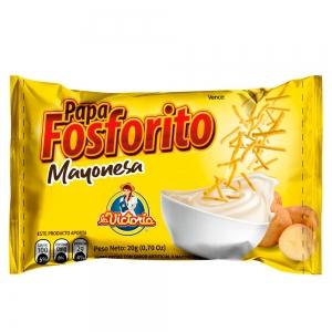 Papa Fosforito Mayonesa 20 gr. (Display x 8 UND.)