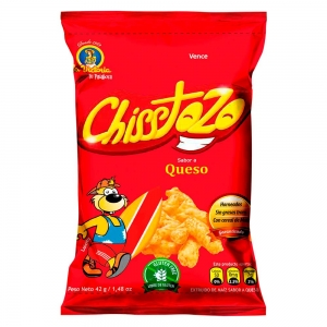 Chisstozo Familiar Queso 40 gr. (Display x 12 UND.)