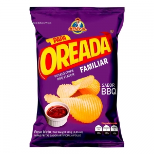 Papa Oreada BBQ Familiar 115 gr.