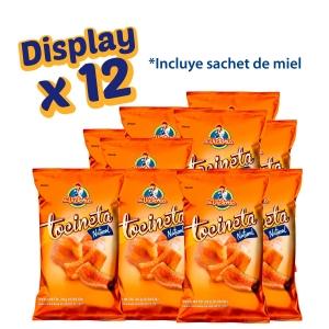 Tocineta Natural con Sachet de Miel (Display x 12 UND.) - Productos la victoria