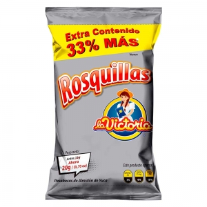 Rosquillas popular 20 g (Display x 12 UND.)