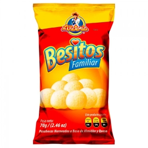 Besitos Familiar 70 gr.